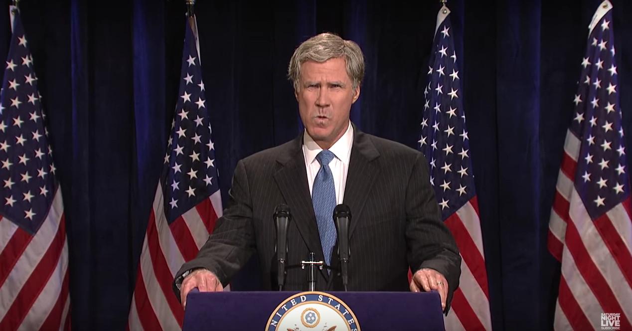 Will Ferrel como George W. Bush