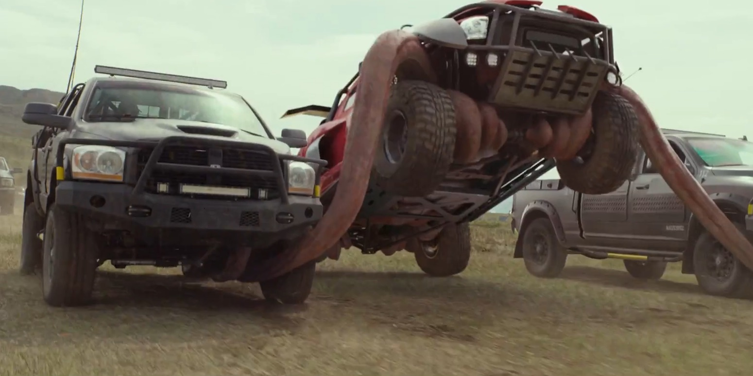 monster trucks...