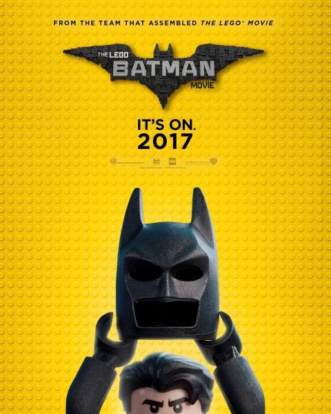 The Lego Batman Movie estreia dia 16 de fevereiro de 2017.